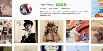 @heybilljoyce on Instagram